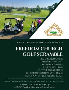 Beckett Ridge - 2019 Freedom Church Scramble