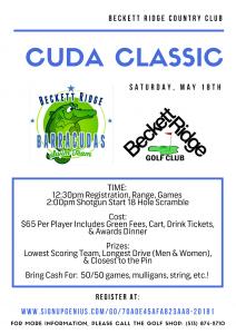 Beckett Ridge - Cuda Classic